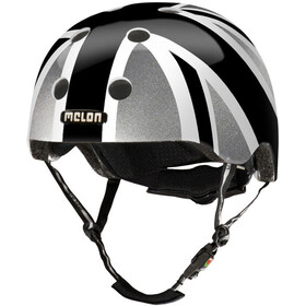 Melon Urban Active Story - Casque de vélo - Union Jack Plain gris/noir